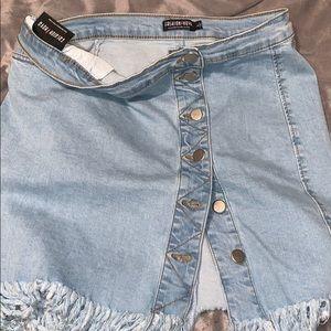 Fashion Nova Denim Skirt